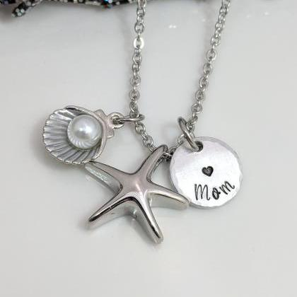 Starfish- Urn Necklace- Personalize..