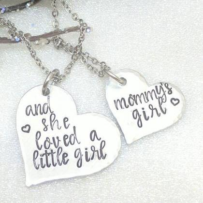 Mother Daughter Jewelry-Mommy and M..