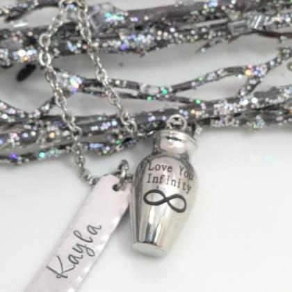 Cremation Jewelry - Personalized - ..