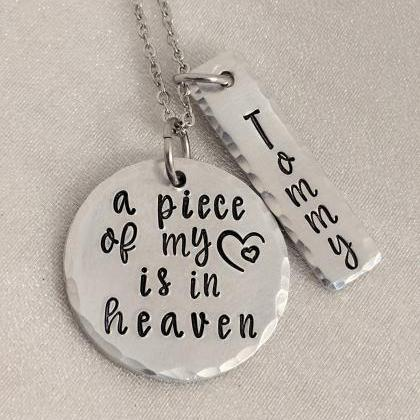 Memorial Jewelry-A Piece of my Hear..