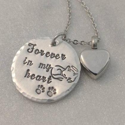 Forever in my Heart Necklace - Loss..