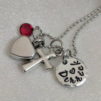 Urn Necklace - Cremation Jewelry - ..