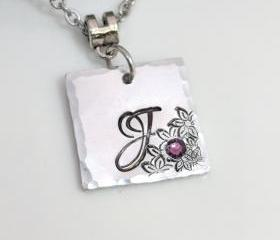 Initial Necklace - I..