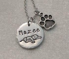 Dog Lover Necklace -..
