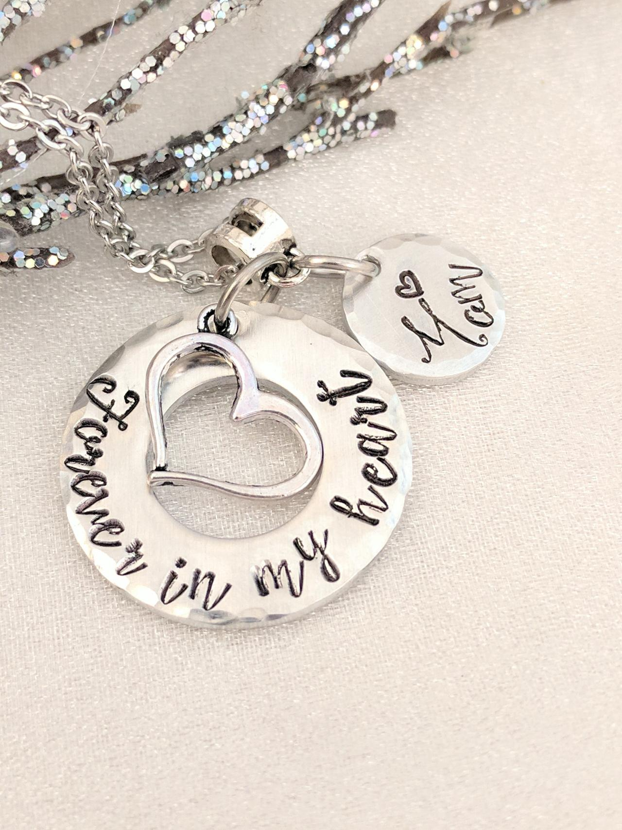 Remembrance Necklace - Memorial Jewelry - Loss Jewelry - Sympathy Gift - Bereavement Necklace - Memorial Keepsake Necklace - Personalized